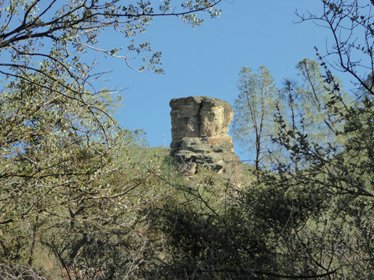 Volcanic plug Pinnacles NP