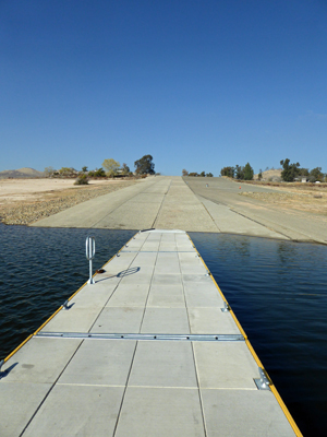Meadow boat ramp Millerton Lake