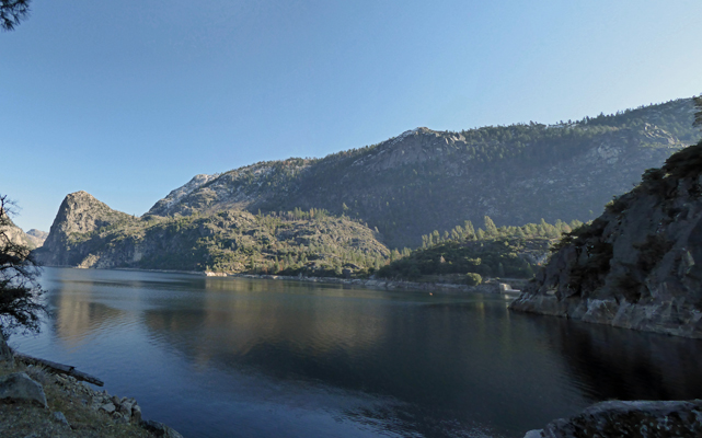 Hetch Hetchy from trail
