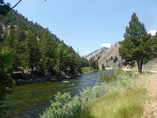 Salmon River near Stanley ID