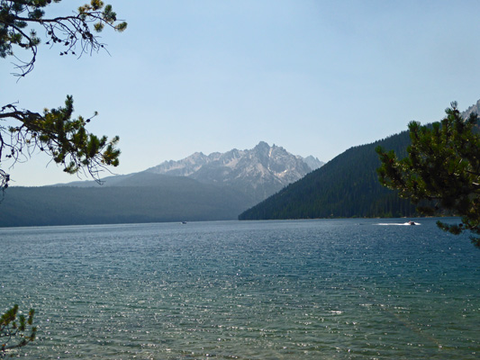 Point Campground view Redfish Lake