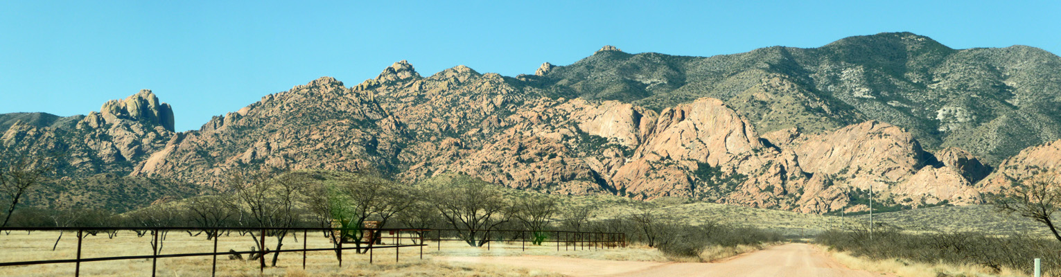 Cochise Stronghold from Ironwood Rd AZ