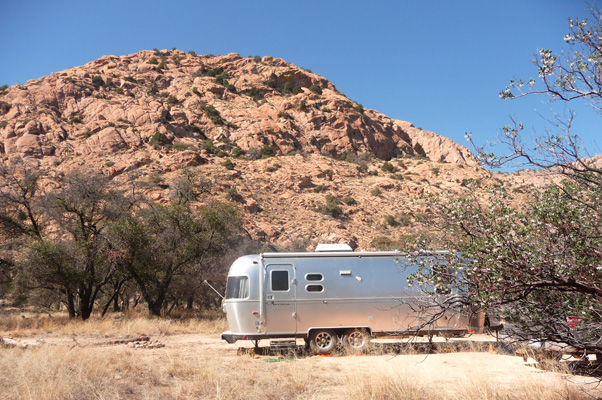 Genevieve Airstream in Cochise Stronghold