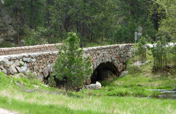 Stone bridge Custer SP