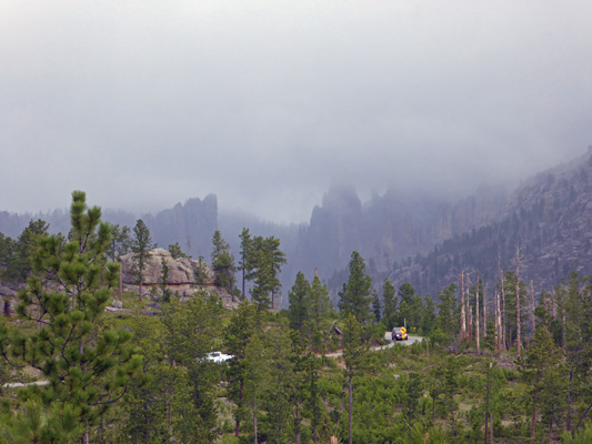 Clouds over Needles Hwy