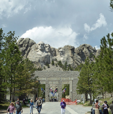 Mount Rushmore entry