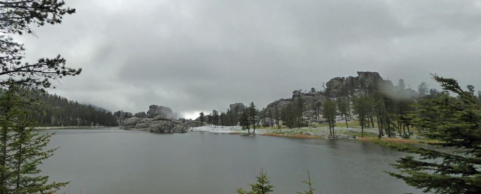 Hail a Sylvan Lake