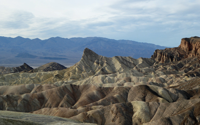Zabrinski Point Death Valley