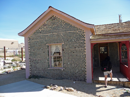 Tom Kelly's Bottle House Rhyolite NV