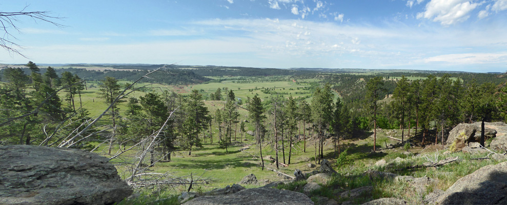 Ranchland from Devils Tower