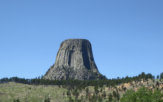 Devils Tower from KOA