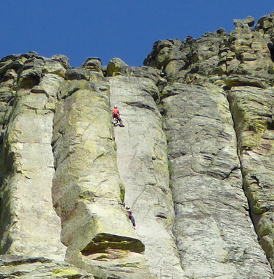 Climbers Devils Tower
