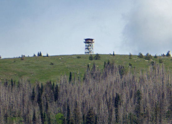 Fire Tower South Skookum Lake