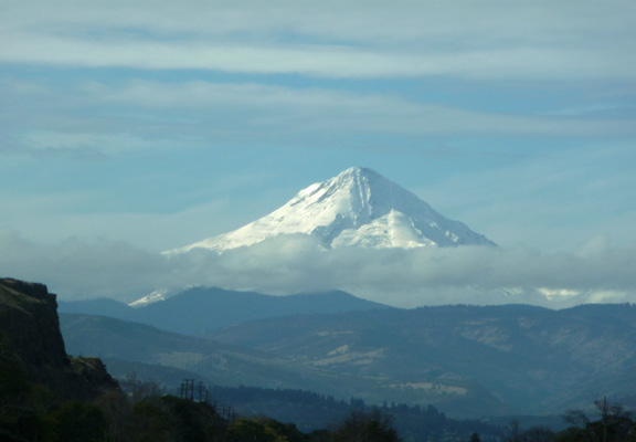 Mt. Hood from The Dalles OR