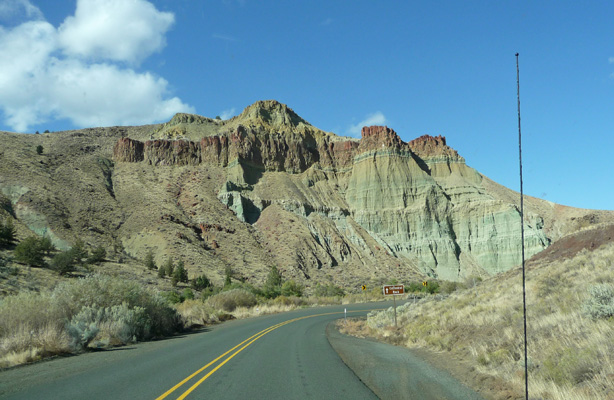 Cathedral Rock John Day Fossil Beds OR