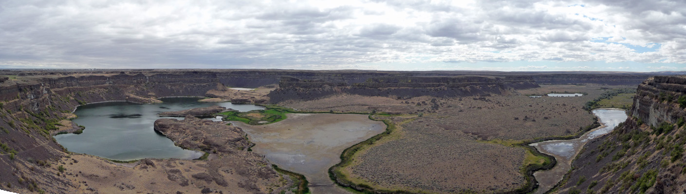 Dry Falls  Panorama from overlook