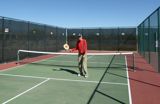 Walter Cooke pickle ball