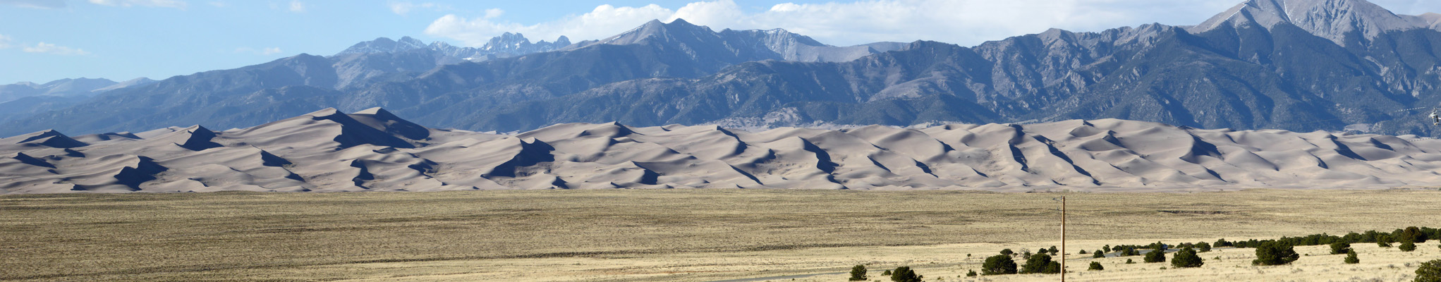 Great Sand Dunes from Great Sand Dunes Oasis RV Park