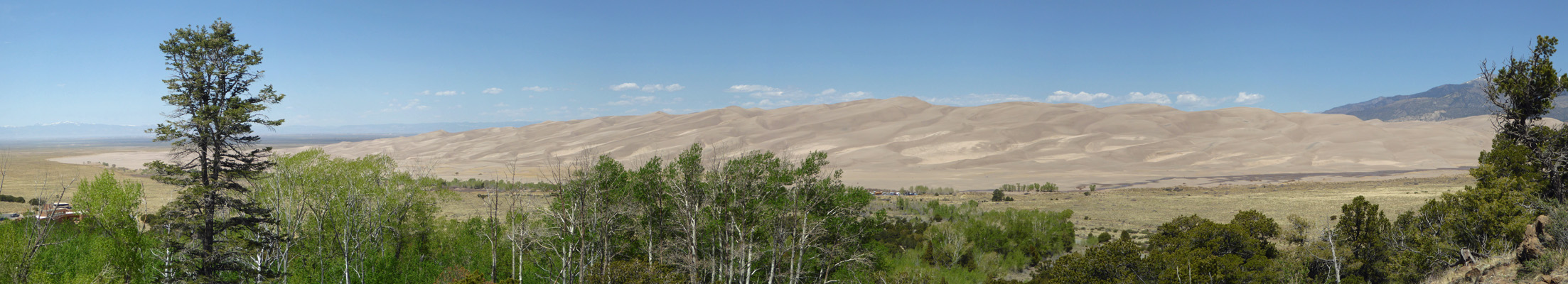 Great Sand Dunes from Montville Nature Trail