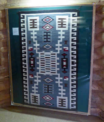 Rug at Red Rock Museum