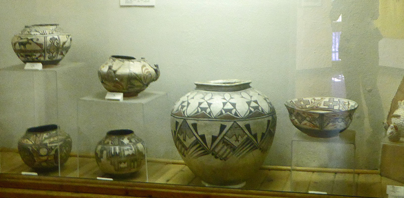Pottery at Red Rock Museum