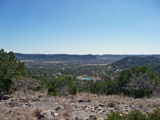 Southward view from Foshee Trail