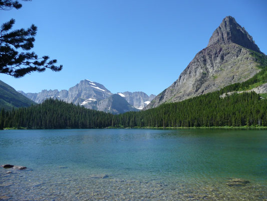 Swiftcurrent Lake Glaicer