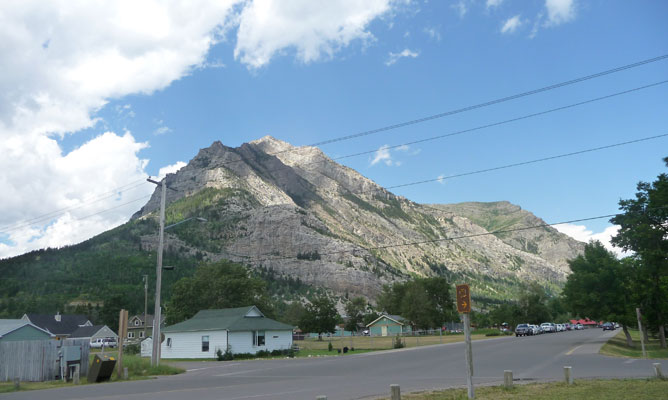 Waterton Townsite campground view