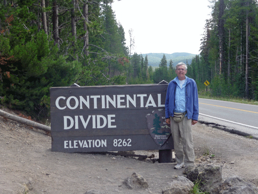 Walter Cooke Continental Divide Yellowstone