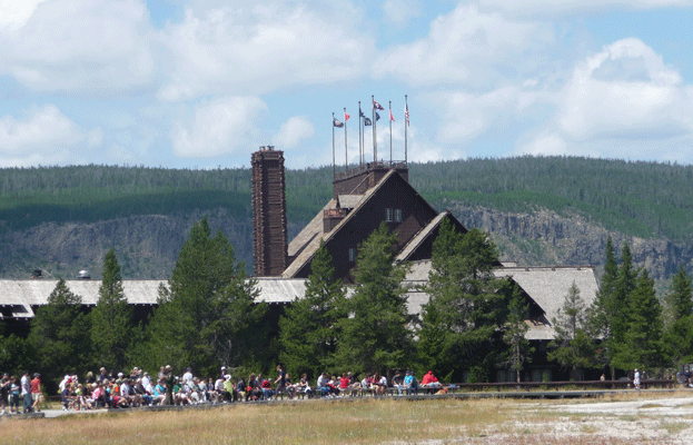 Old Faithful Hotel Yellowstone