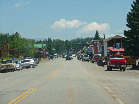 Downtown Cooke City MT