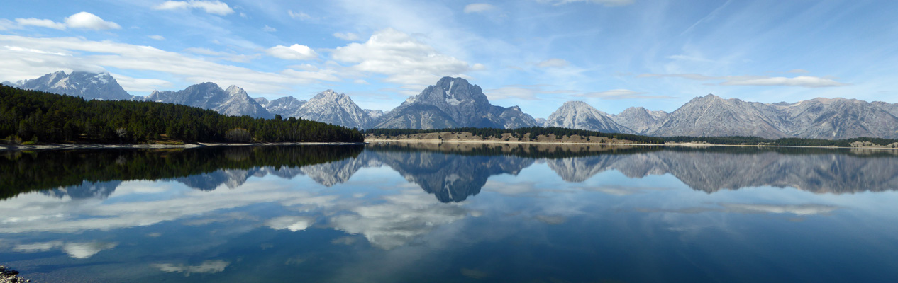 Jackson Lake Teton reflection