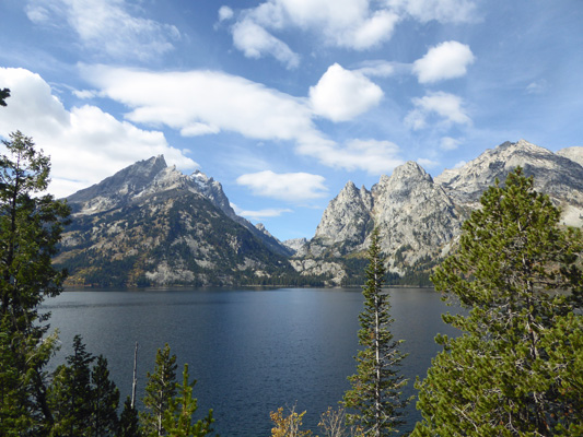 Teewinot Mountain at Jenny Lake