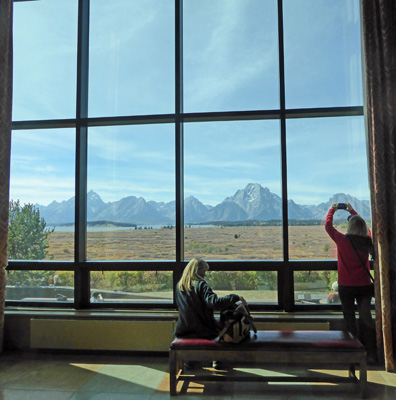 Jackson Lake Lodge view