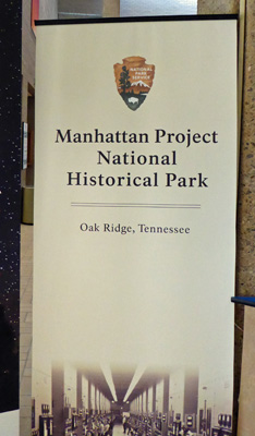 Manhattan Project Nat Historic Park sign
