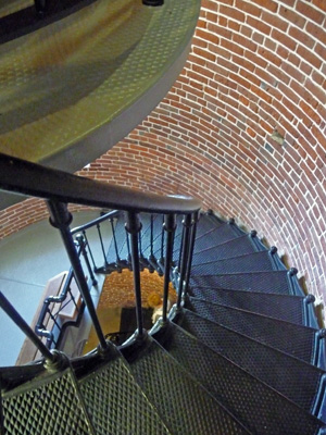 Stairs in Heceta Head Lightouse