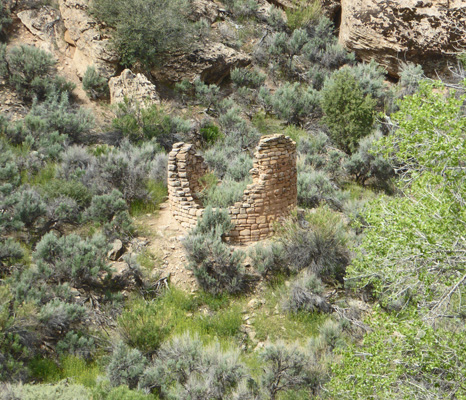Hovenweep round tower