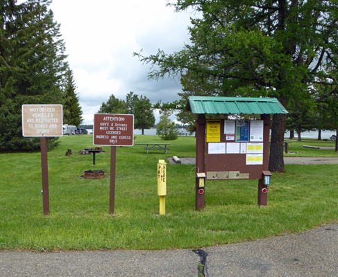 Huckleberry Campground pay station