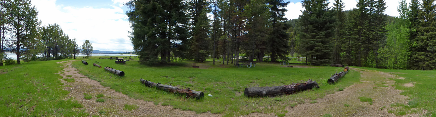 Curlew Campground Lake Cascade