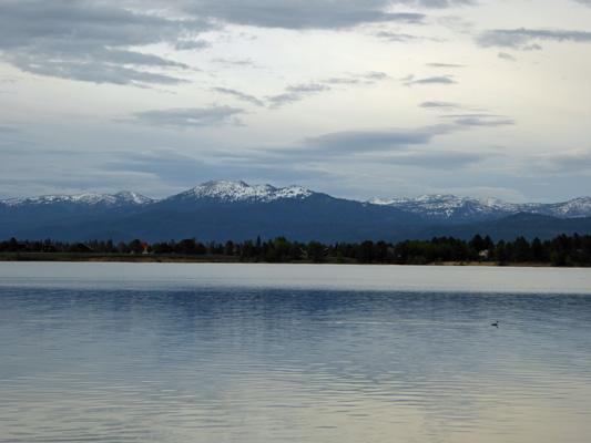 Mountains east of Lake Cascade