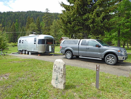 Huckleberry Campground Host Site