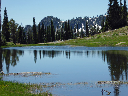 Potters Pond Snowbank Mt ID