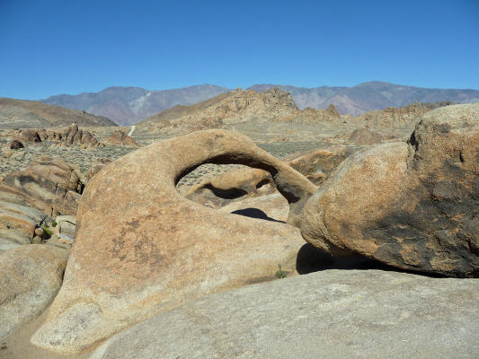Mobius Arch from west side Alabama Hills CA