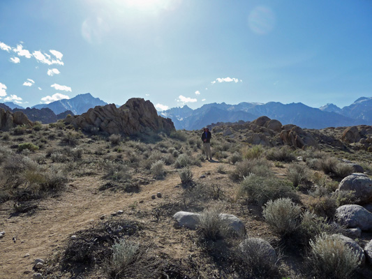 Walter Cooke on Arches Trail Alabama Hills CA