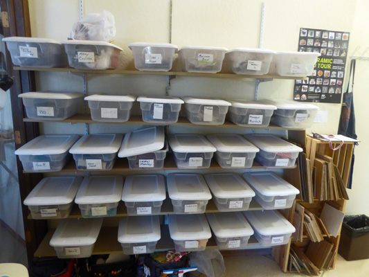 JRR Pottery storage bins