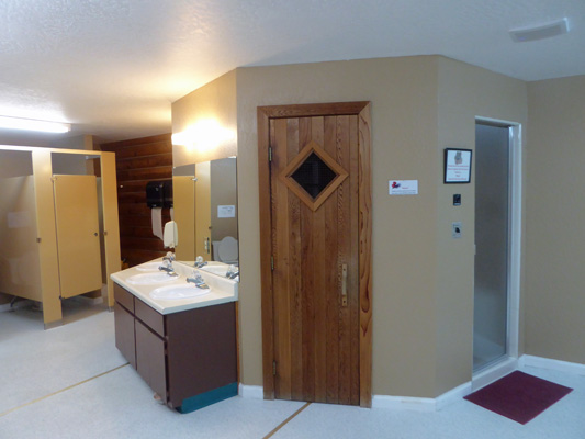 JRR steamroom and sauna