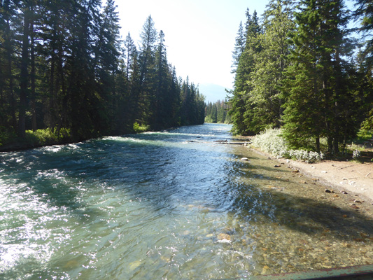 Maligne River at 6th Bridge