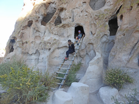 Caves at Bandelier