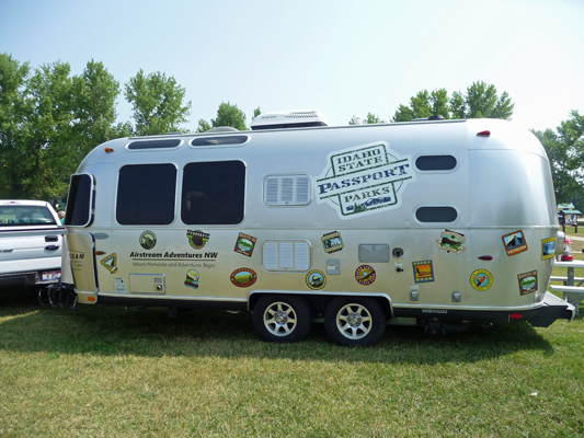 Idaho State Parks 50th Anniversary Airstream