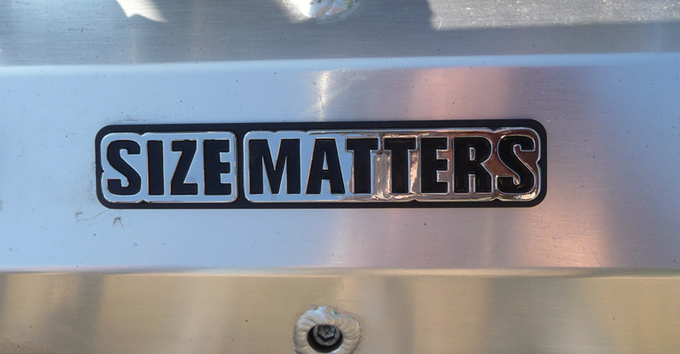 Size Matters engine lable